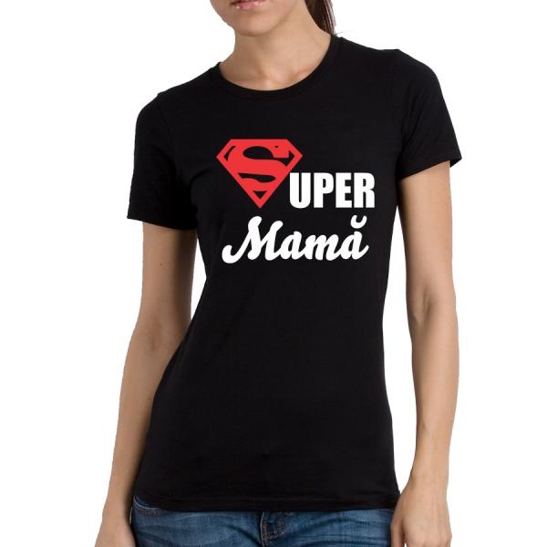 Tricou Personalizat - Super Mama [1]