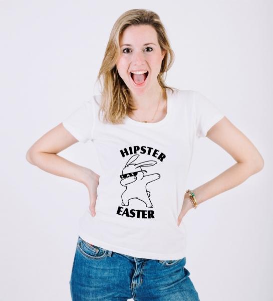 Tricou Personalizat de Paste - Hipster Easter [1]