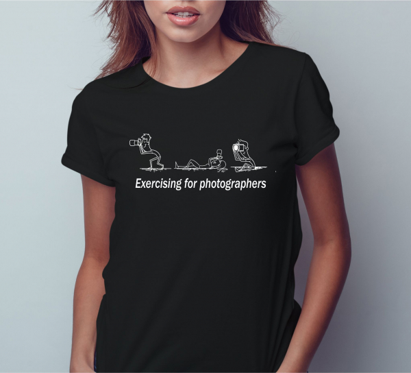 Tricou Personalizat - Exercising For Photographers 1