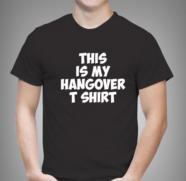 Tricou Personalizat Funny - Hangover T Shirt 0