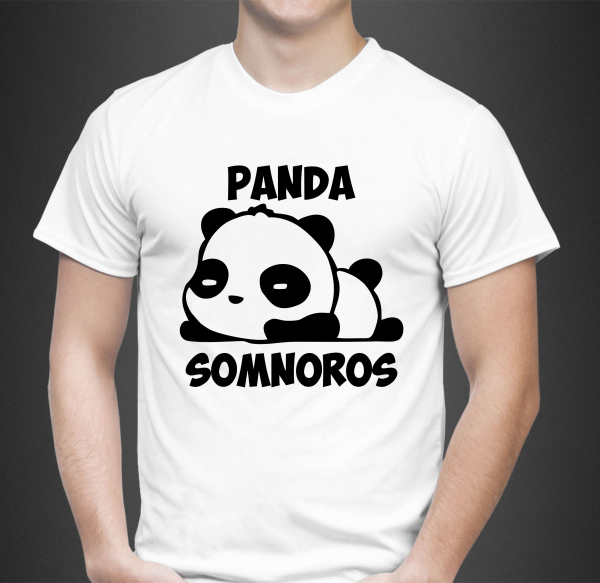 Tricou Personalizat Funny - Panda Somnoros 1