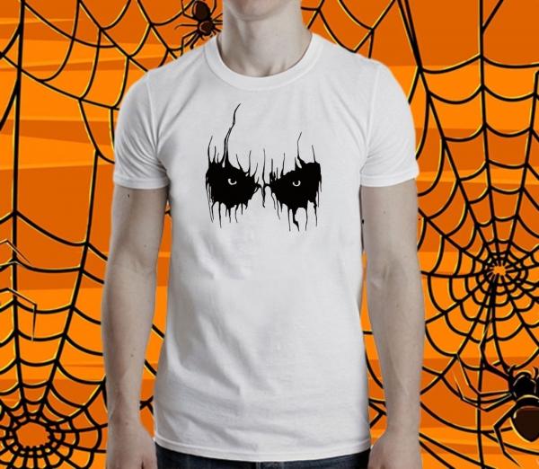 Tricou Personalizat Halloween - Scary Eyes 0