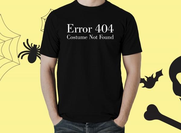 Tricou Personalizat Halloween - Costume Not Found 0