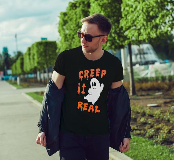 Tricou Personalizat Halloween - Creep It Real 1