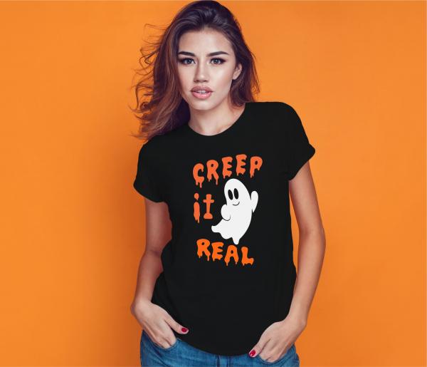 Tricou Personalizat Halloween - Creep It Real 0
