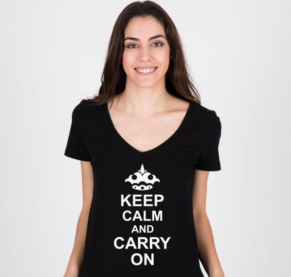 Tricou Personalizat - Keep calm and carry on 1