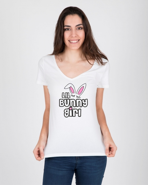 Tricou Personalizat - Little Bunny Girl 1