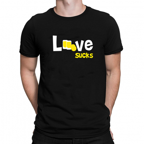 Tricou Personalizat - Love Sucks 1