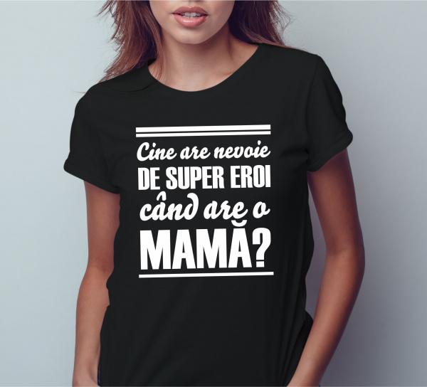 Tricou Personalizat - mama super erou 1