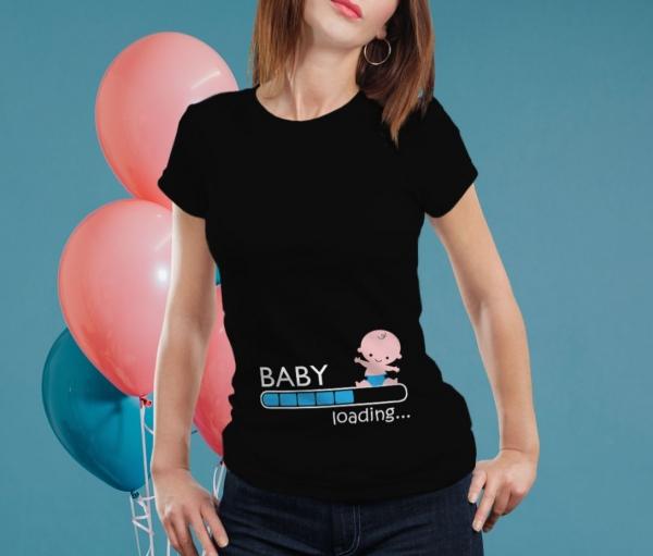 Tricou Personalizat Mamica - Baby Loading Baietel 2 [0]