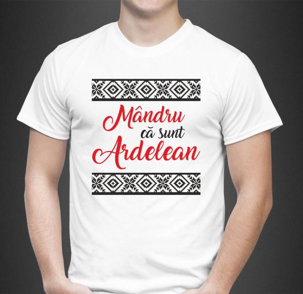 Tricou Personalizat - Mandru Ca Sunt Ardelean 0