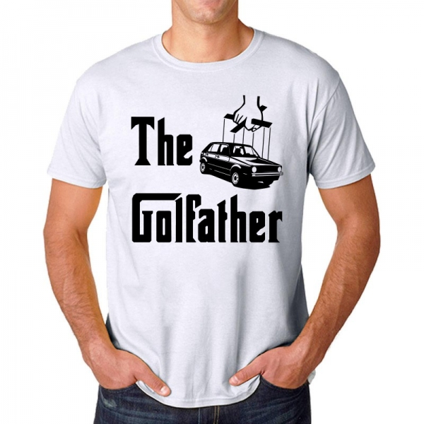Tricou Personalizat - The Golfather 0