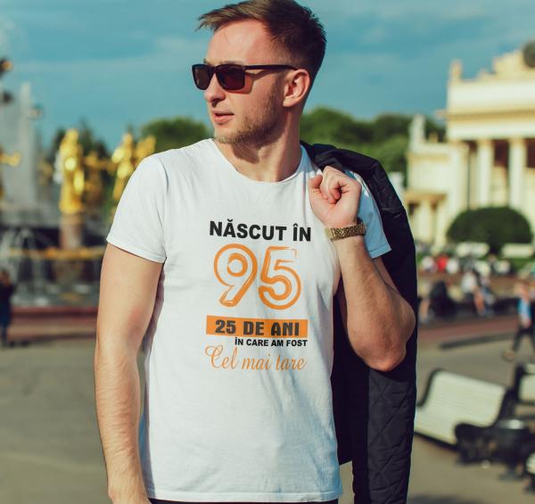 Tricou Personalizat - Nascut in 95 1