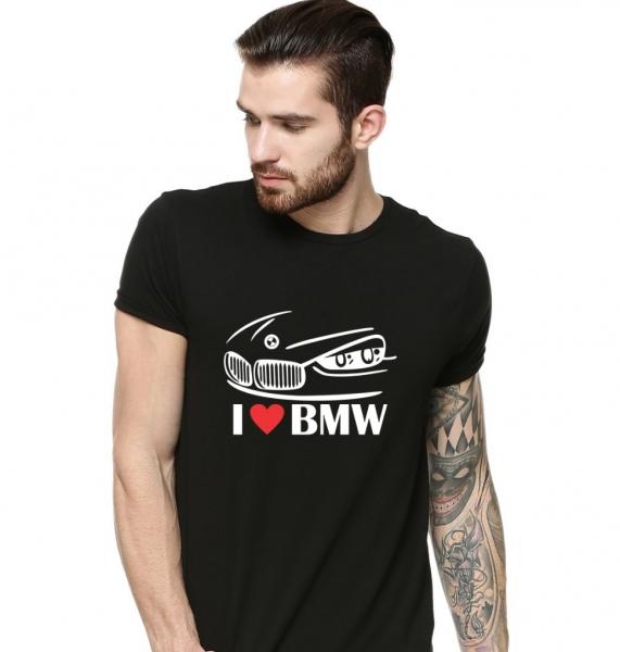 Tricou Personalizat - I Love BMW [0]