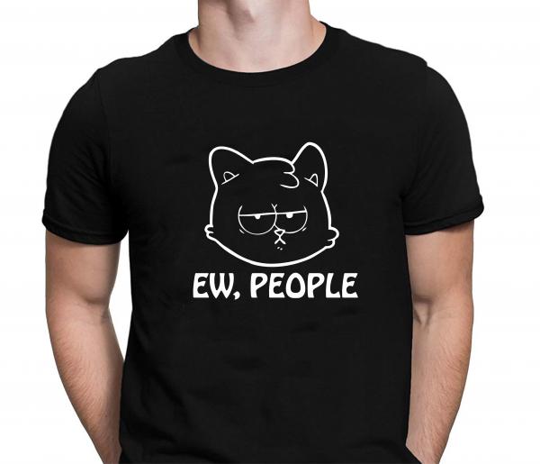 Tricou Personalizat Pisici - Ew, People 1