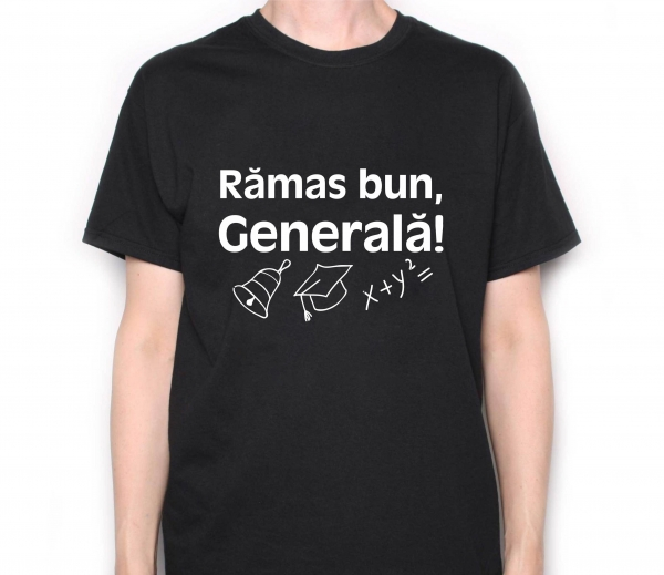 Tricou Personalizat Scolari - Ramas Bun Generala 0