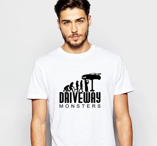 Tricou Personalizat - Driveway monsters 1