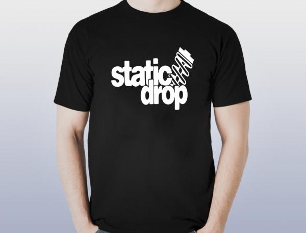 Tricou Personalizat - Static Drop 0