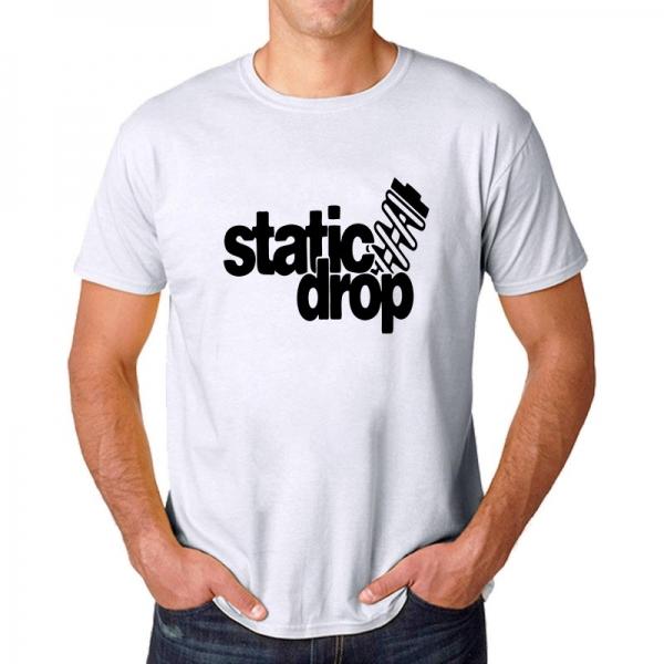 Tricou Personalizat - Static Drop 1