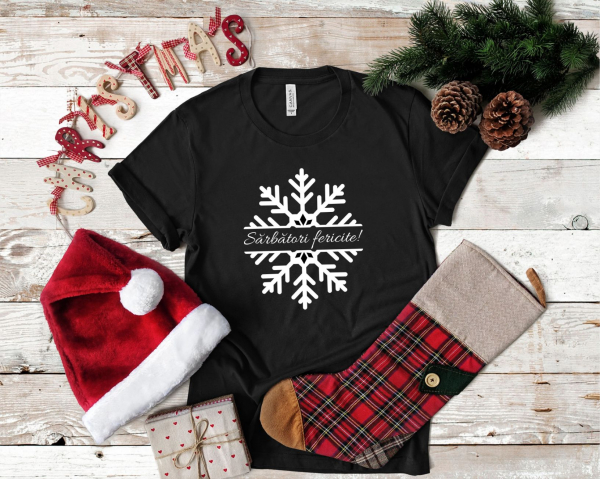 Tricou Personalizat - Sarbatori Fericite 1