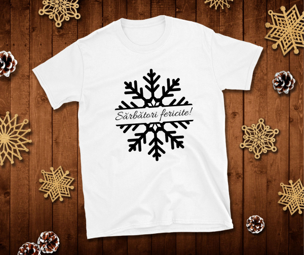 Tricou Personalizat - Sarbatori Fericite 0