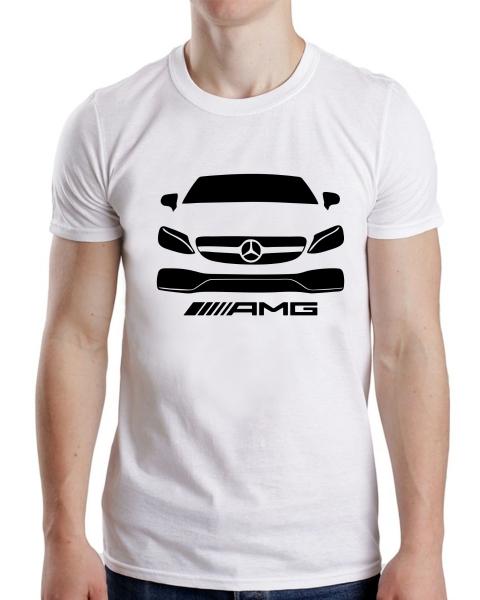 Tricou Personalizat - Mercedes C63 AMG [0]