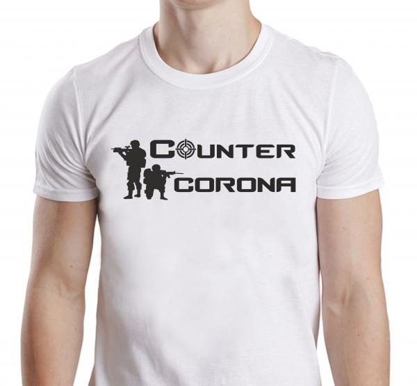 Tricou Personalizat #stamacasa - Counter Corona 0