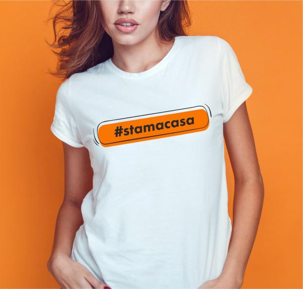 Tricou Personalizat - #stamacasa 0
