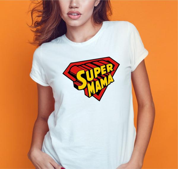 Tricou Personalizat - Super Mama 0
