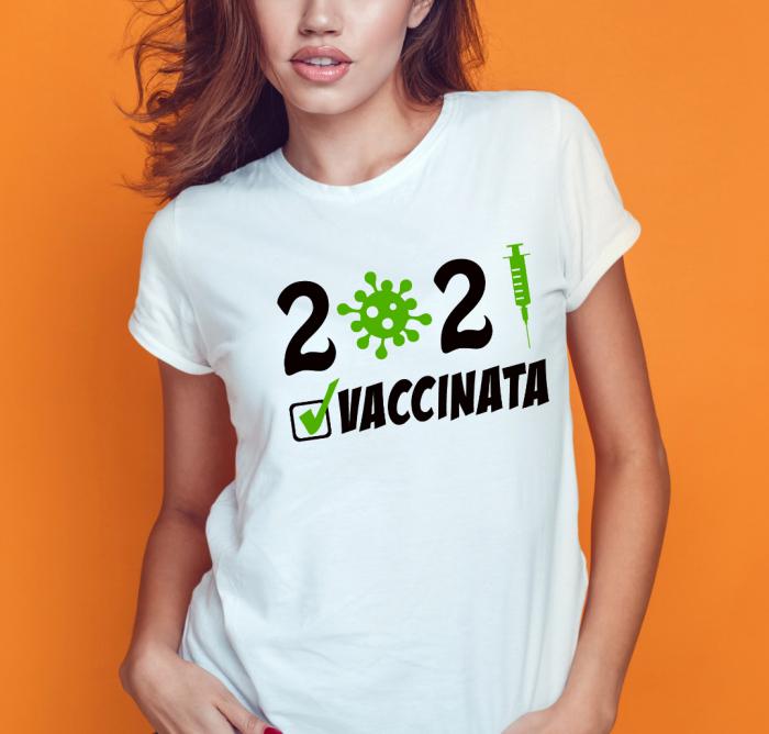 Tricou Personalizat - Vaccinat 2021 [0]