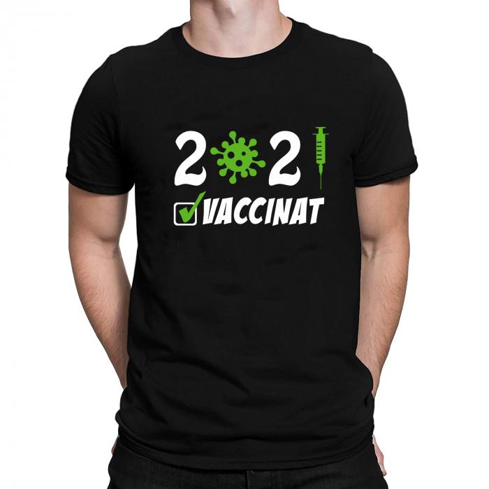 Tricou Personalizat - Vaccinat 2021 [1]