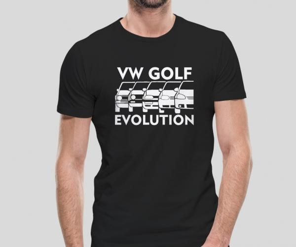 Tricou Personalizat - Volksvagen Golf Evolution 0