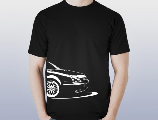 Tricou Personalizat - VW Golf IV 0