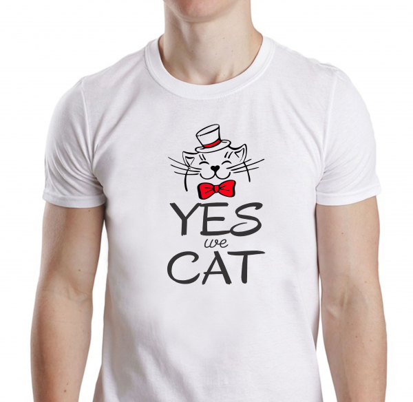 Tricou Personalizat - Yes We Cat 0