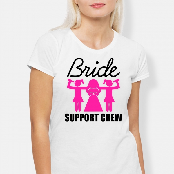 Tricou Petrecerea Burlacitelor - Bride Support Crew [1]