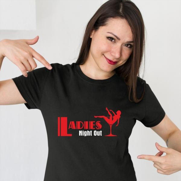 Tricou Petrecerea Burlacitelor - Ladies Night out 1