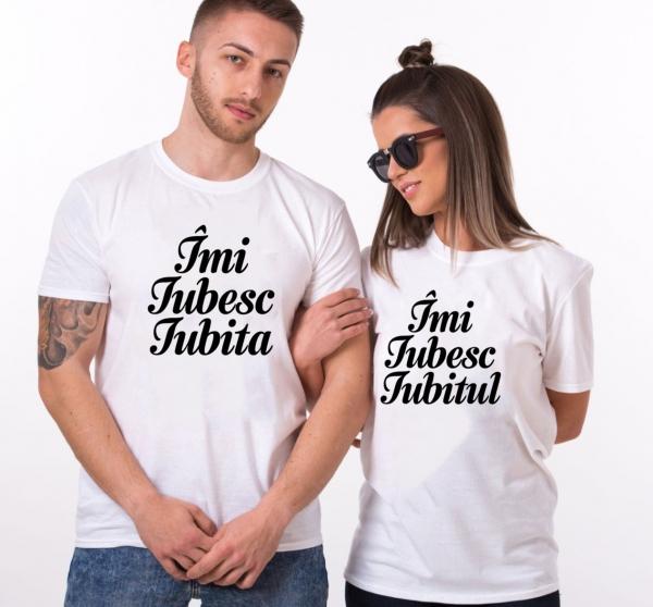 Tricouri Cuplu Personalizate - Imi iubesc Iubitul / Iubita 1