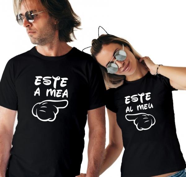 Tricouri Cuplu Personalizate - Este al meu / Este a mea 1