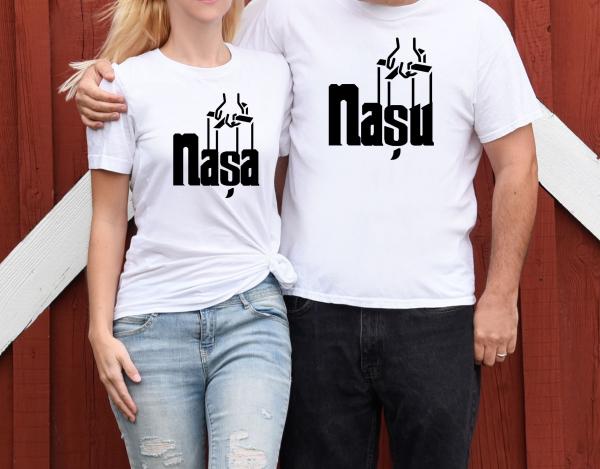 Tricouri Cuplu Personalizate - Nasu Si Nasa 1