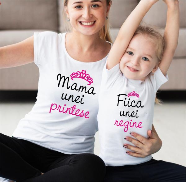 Tricouri Personalizate - Mama Unei Printese 0