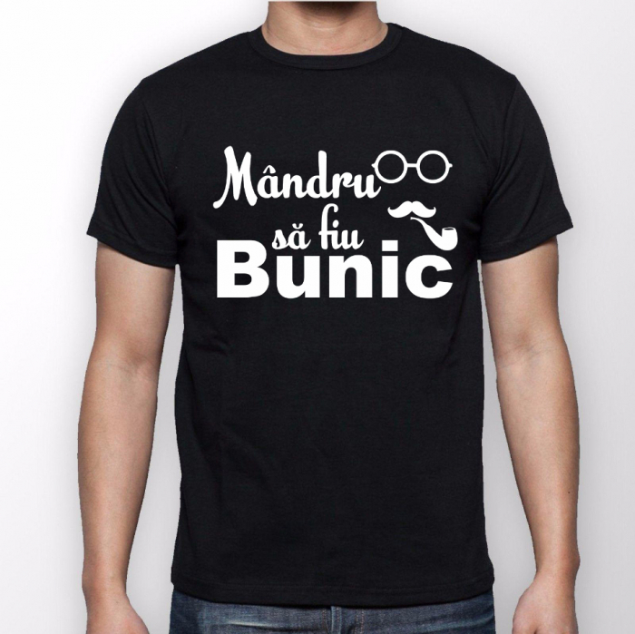 Tricouri Personalizate - Mandra sa fiu bunica / Mandru sa fiu bunic [1]