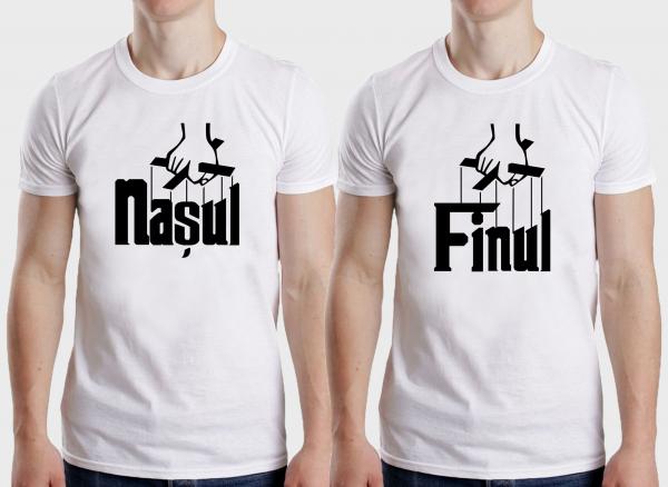 Tricouri Personalizate - Nasu si Finu 1