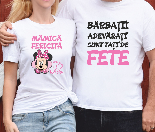 Tricouri Personalizate - Parinti de Fetita [0]