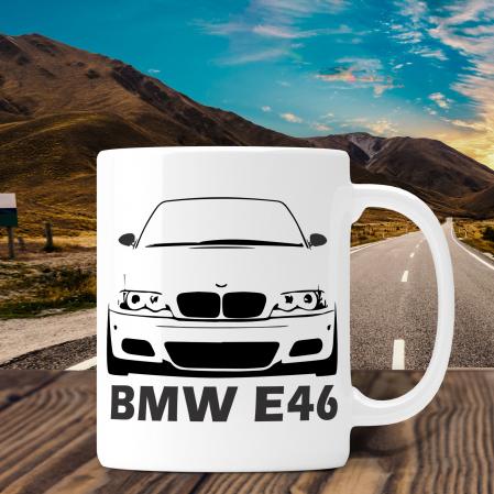 Cana Auto Personalizata - BMW E46 Cu Nume Sau Numar [0]