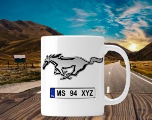 Cana personalizata Auto - Mustang0