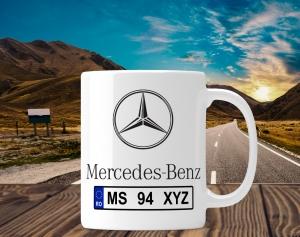 Cana personalizata Auto - Mercedes Benz0