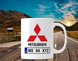 Cana personalizata Auto - Mitsubishi0