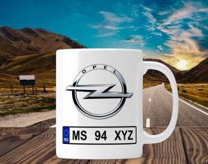 Cana personalizata Auto - Opel0