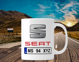Cana personalizata Auto - Seat [0]