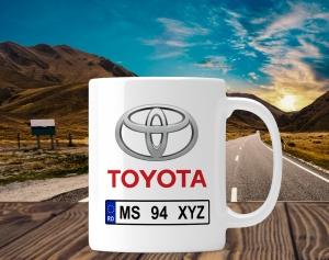 Cana personalizata Auto - Toyota0